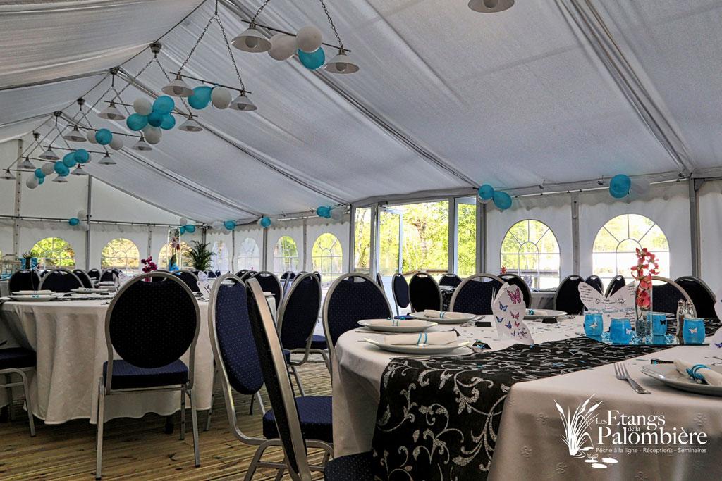 Un bien joli mariage aux etangs les etangs de la palombi re for Chambre 13 tahiti plage mp3